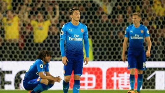 Mesut Ozil Arsenal Watford 14102017