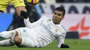 Casemiro Real Madrid Villarreal La Liga 13012018