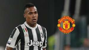 Alex Sandro, Juventus, Man Utd