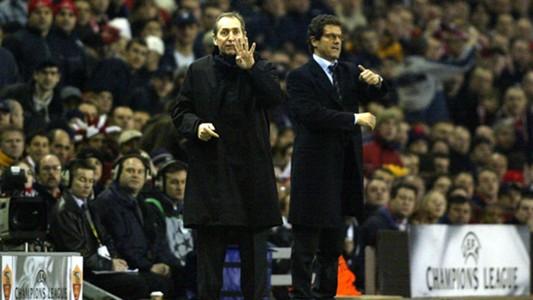 Gerard Houllier and Fabio Capello