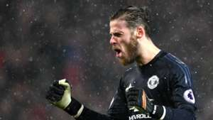David De Gea Manchester United Premier League