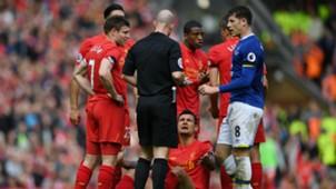 Dejan Lovren Ross Barkley Liverpool Everton Premier league 01042017