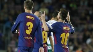 Messi Pique Barcelona Eibar LaLiga