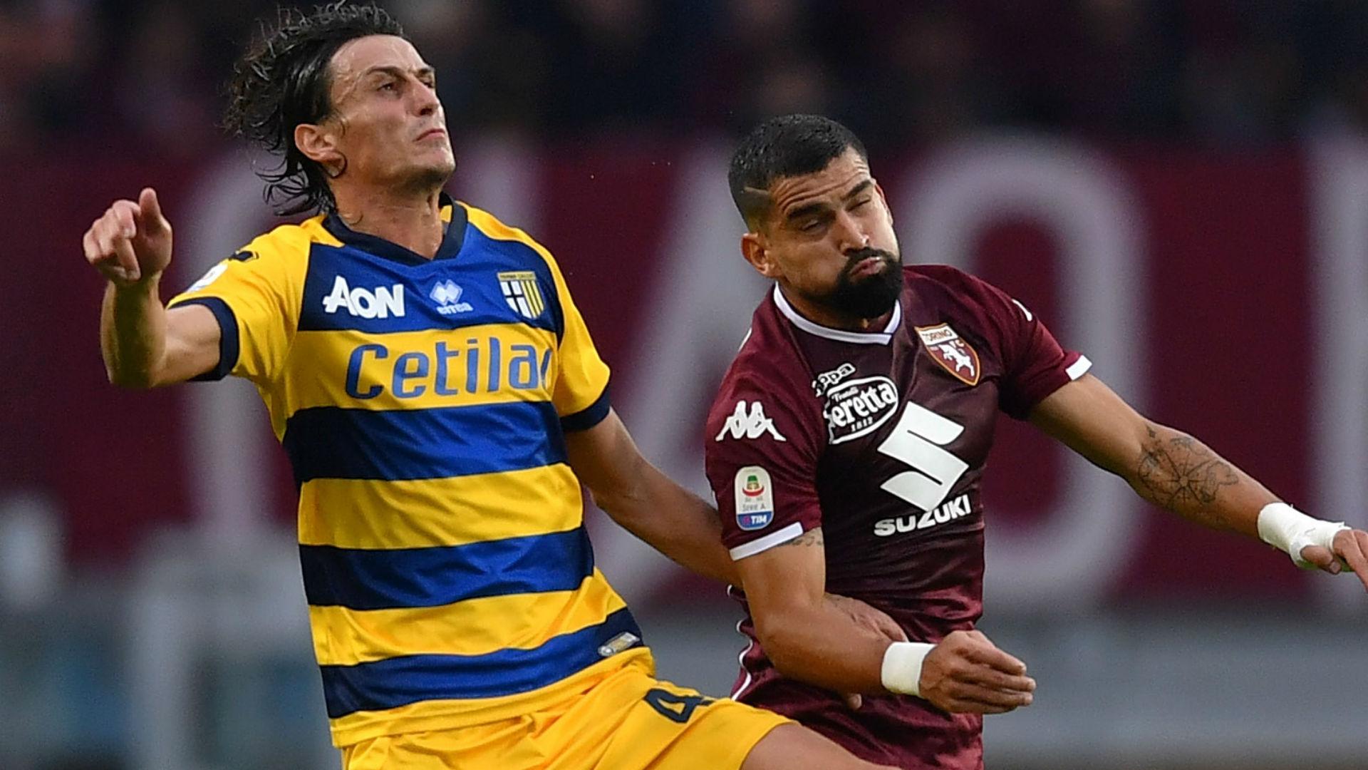 Inglese Rincon Torino Parma Serie A