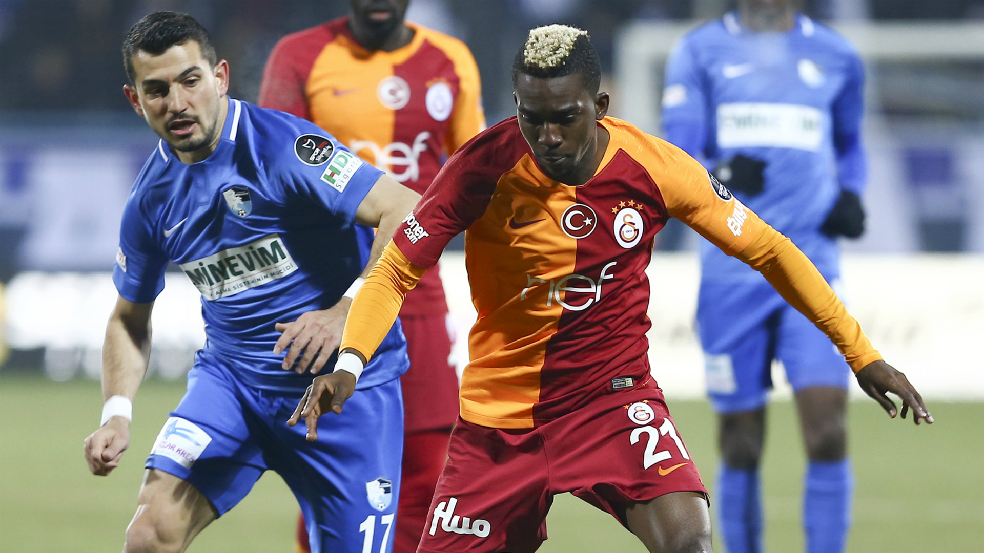 BB Erzurumspor Galatasaray Henry Onyekuru Emrah Bassan 030319
