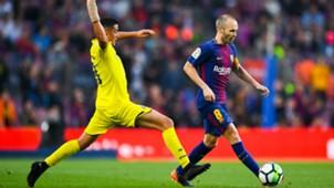 Iniesta Barcelona Villarreal LaLiga