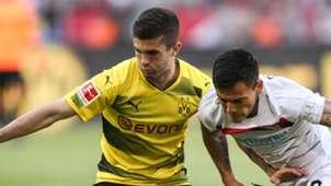 Christian Pulisic Borussia Dortmund Bayer Leverkusen