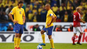 Zlatan Ibrahimovic Henrik Larsson Sweden