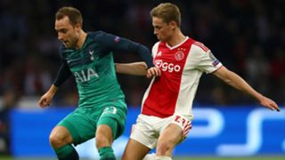 Frenkie de Jong Christian Eriksen Ajax Tottenham Champions League 2019