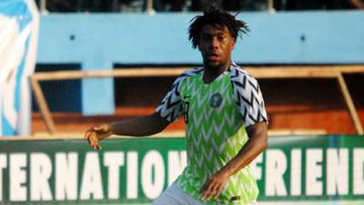 Alex Iwobi - Nigeria vs. Uganda