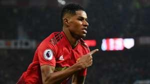 Marcus Rashford Manchester United 2018-19