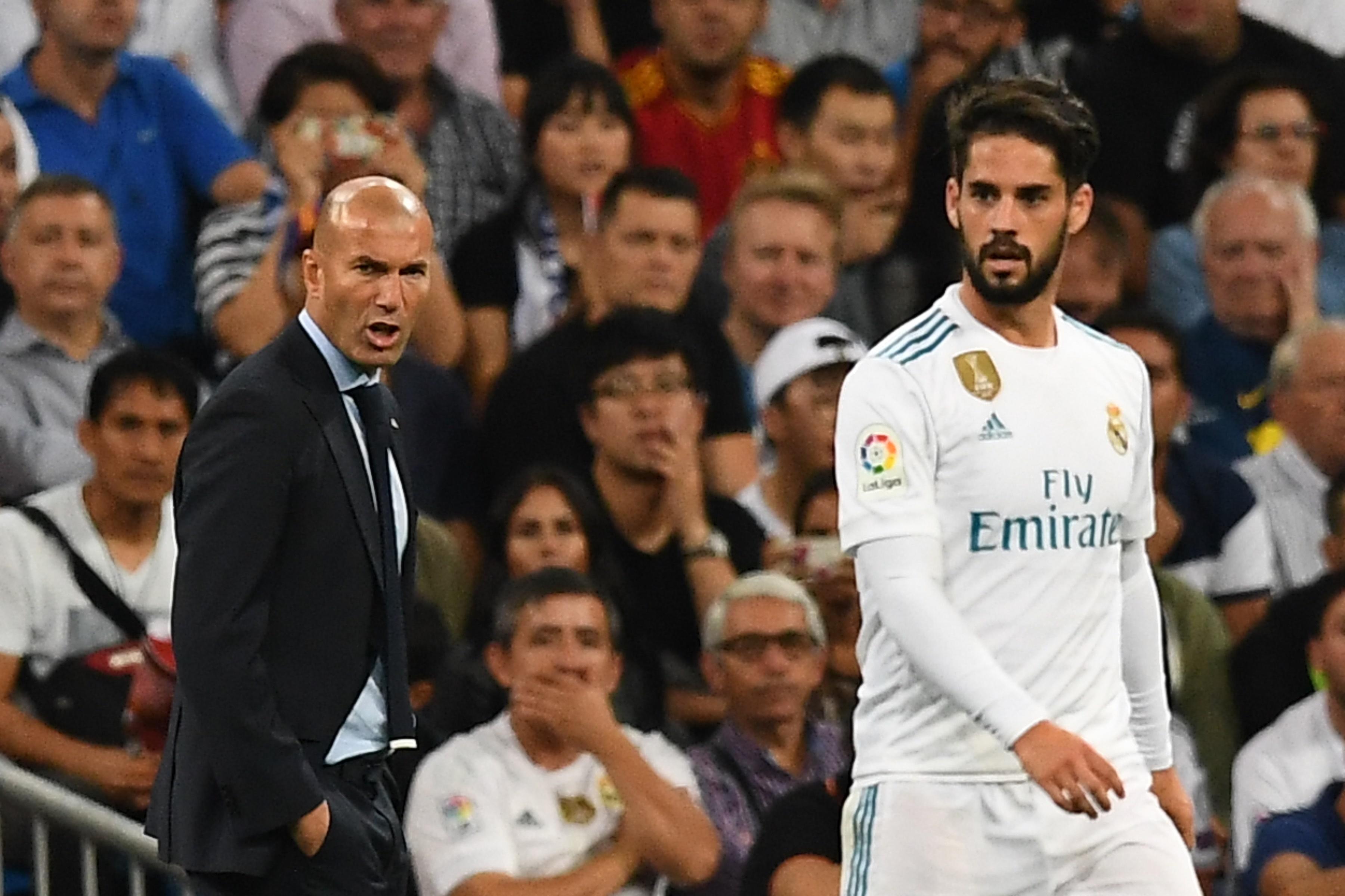 Zinedine Zidane & Isco