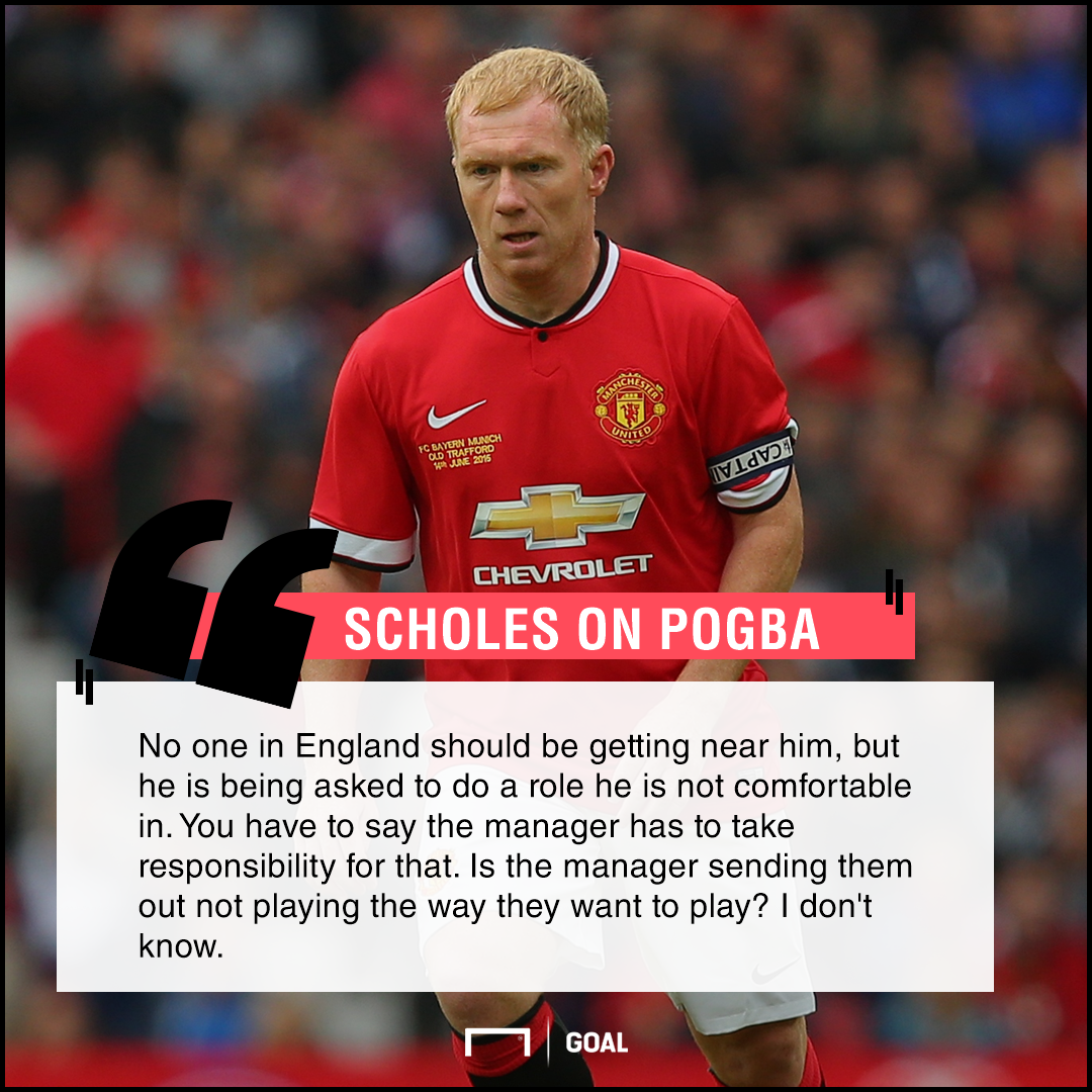 Paul Scholes quote - Paul Pogba