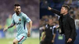 GFX Diego Simeone Lionel Messi