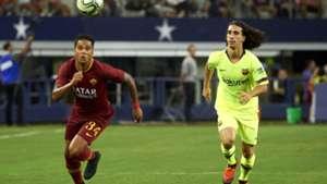 Justin Kluivert Marc Cucurella Barcelona Roma ICC 2018