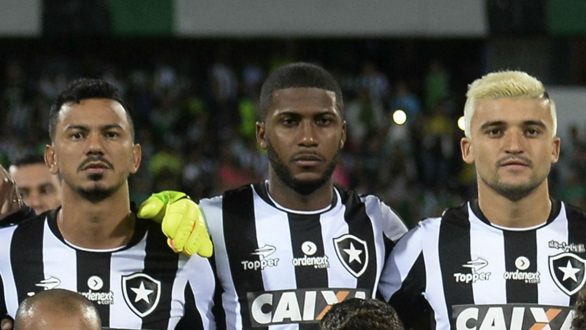 Lindoso Emerson Santos Victor Luis Botafogo Libertadores 14 04 2017