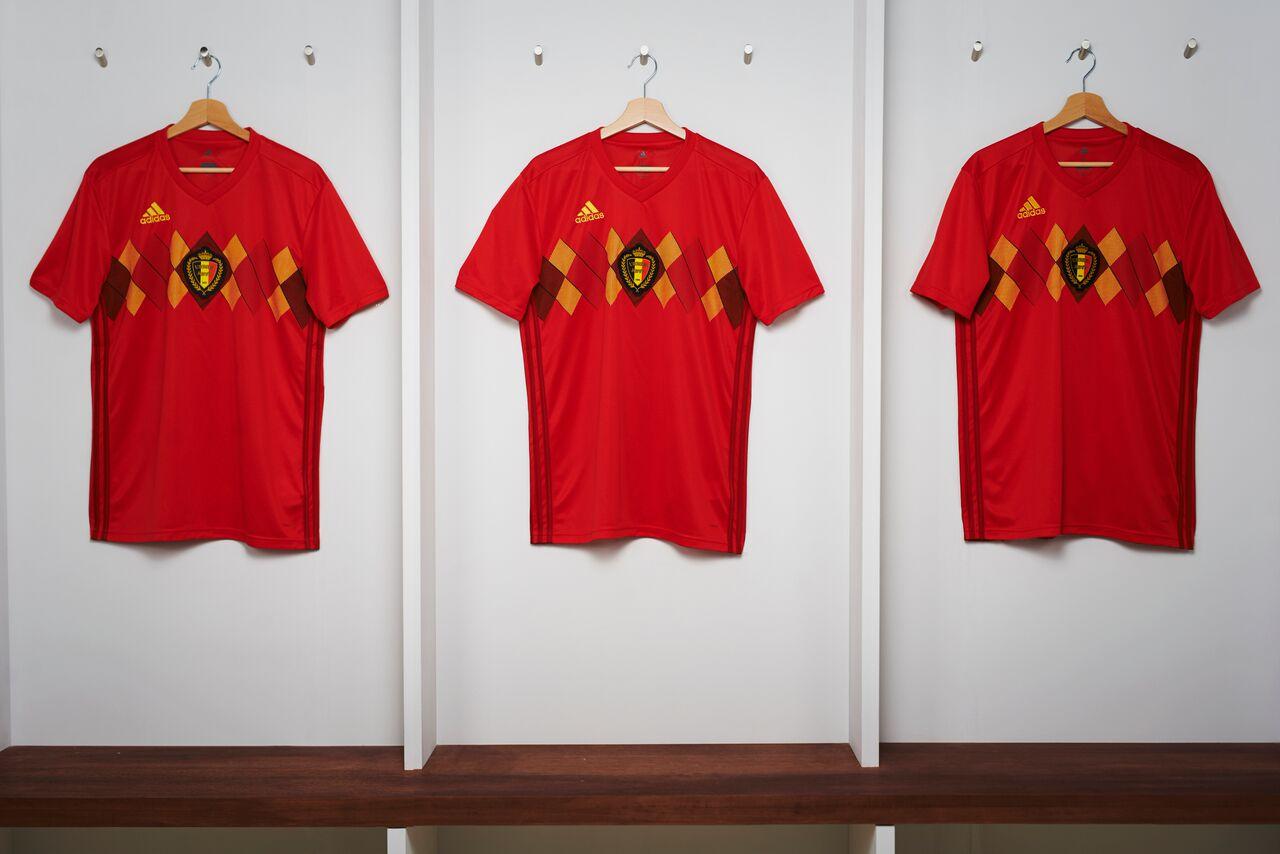 camiseta Bélgica Rusia 2018