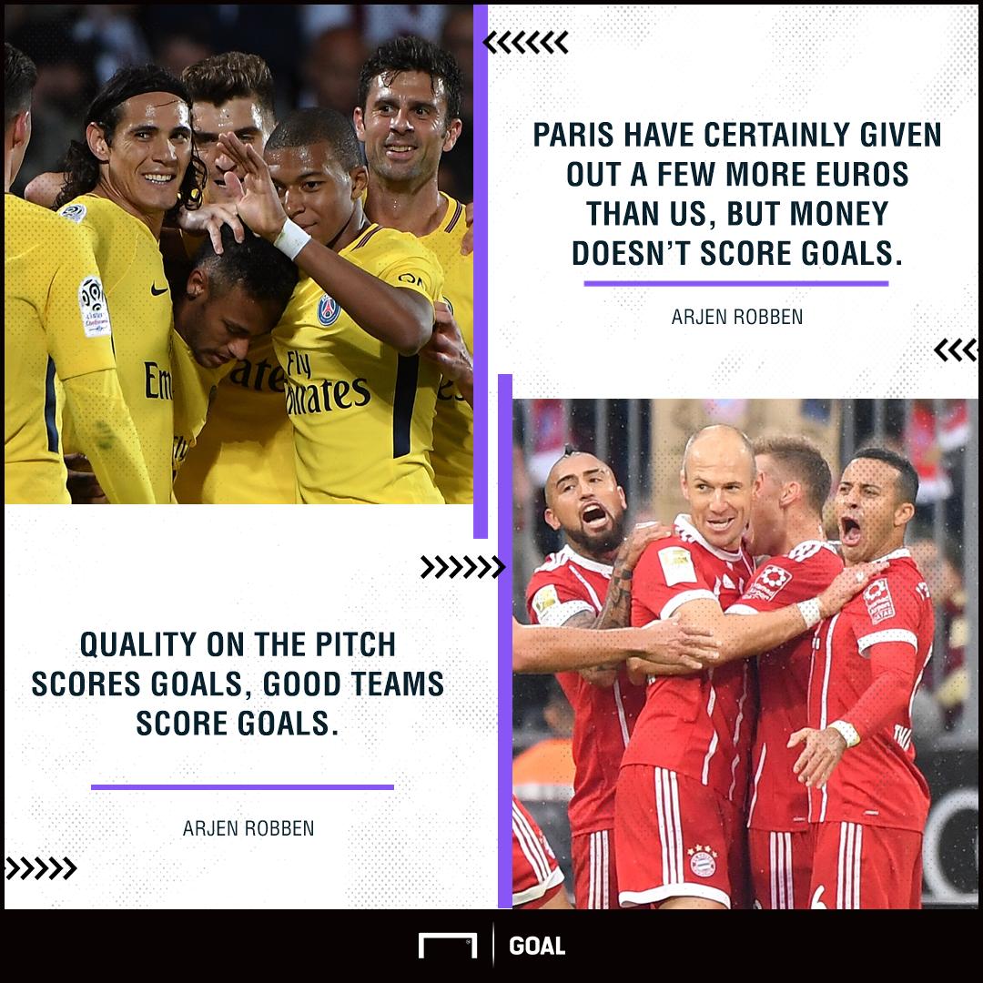 Arjen Robben PSG money doesn't score goals