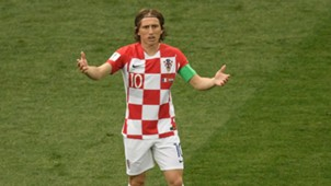 Luka Modric France Croatia World Cup final 2018