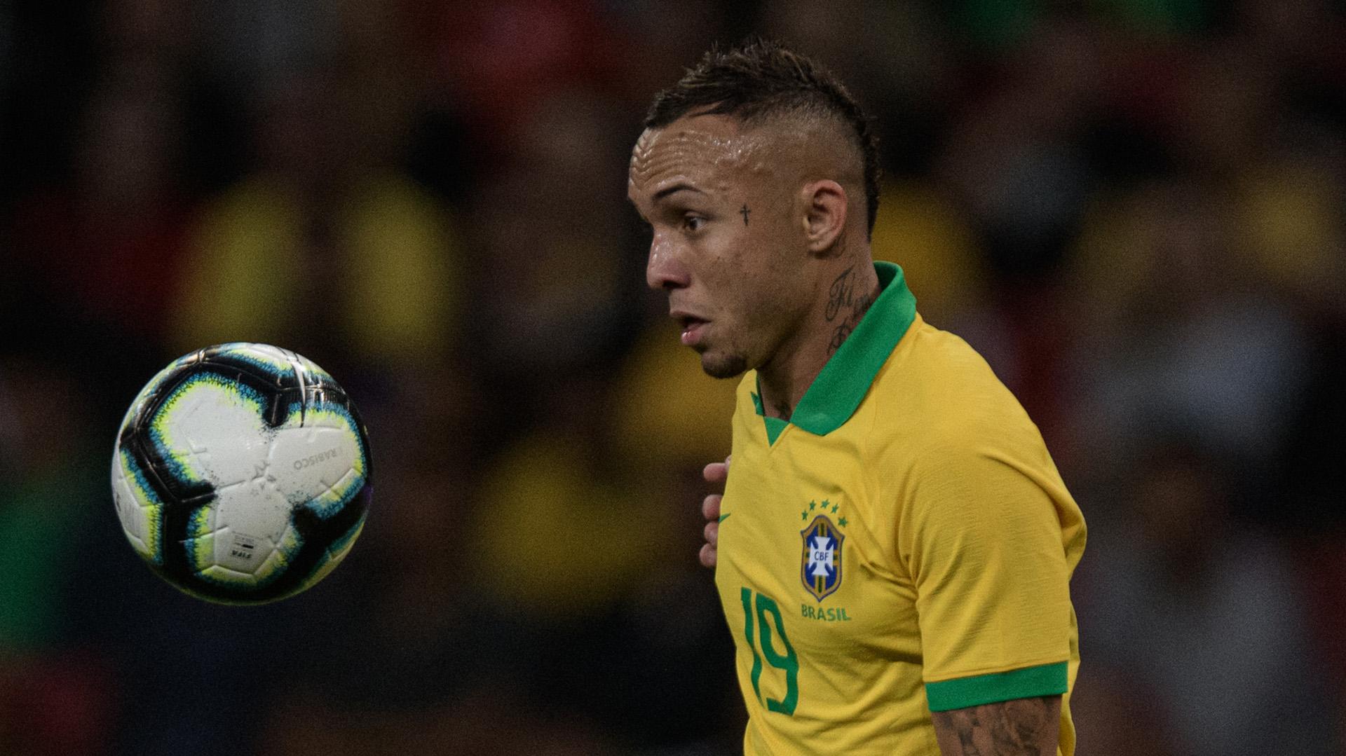Everton Brasil Honduras Amistoso 09062019