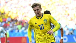Emil Forsberg Sweden South Korea World Cup 2018