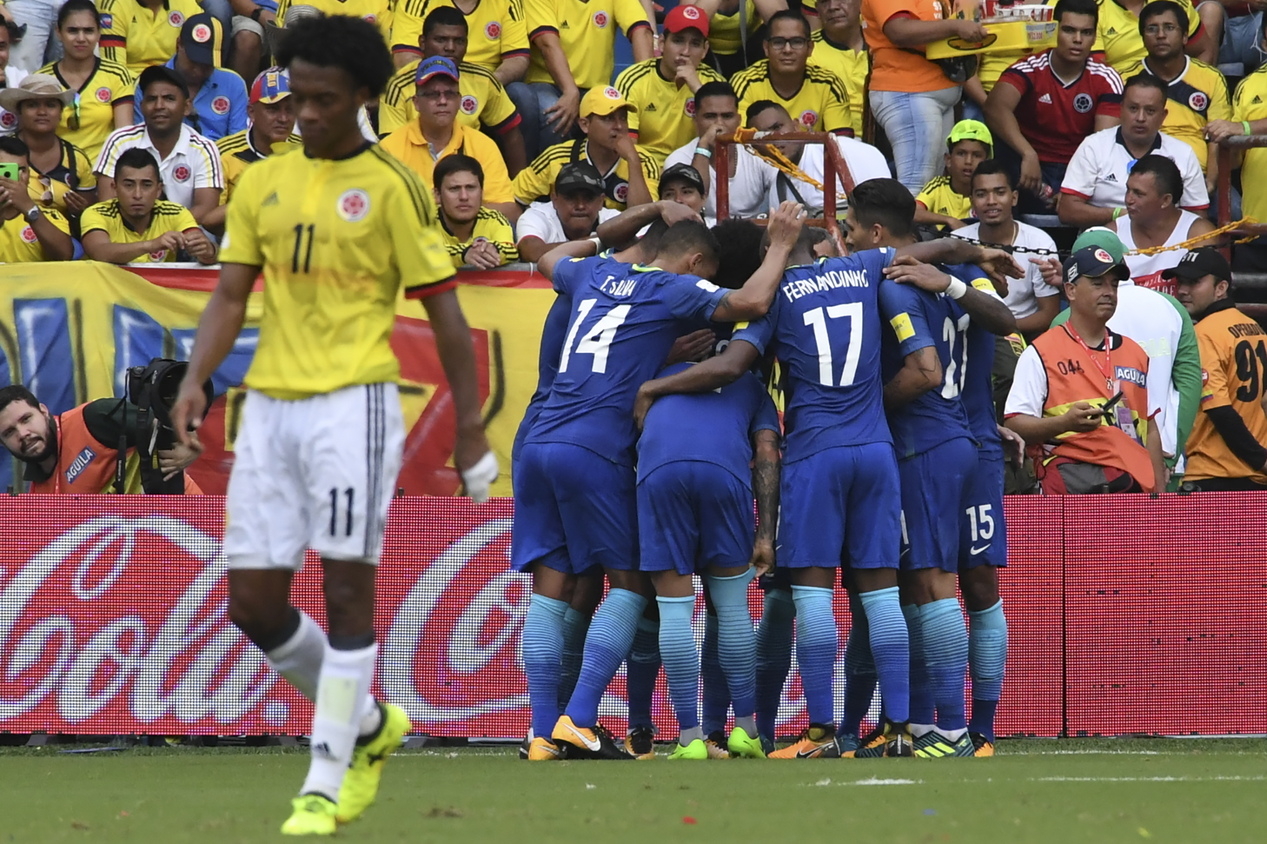 Colombia hosts Brazil in critical World Cup qualifier
