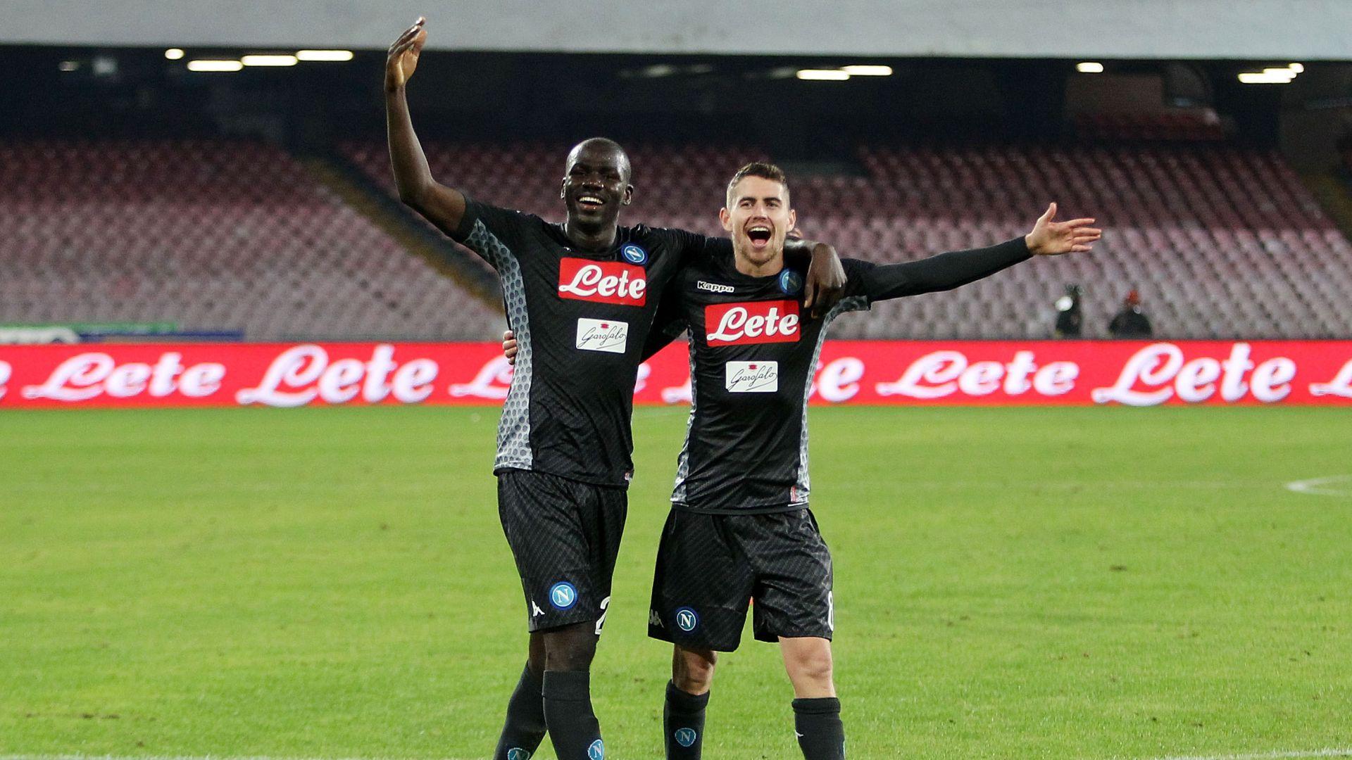 Kalidou Koulibaly Jorginho Napoli