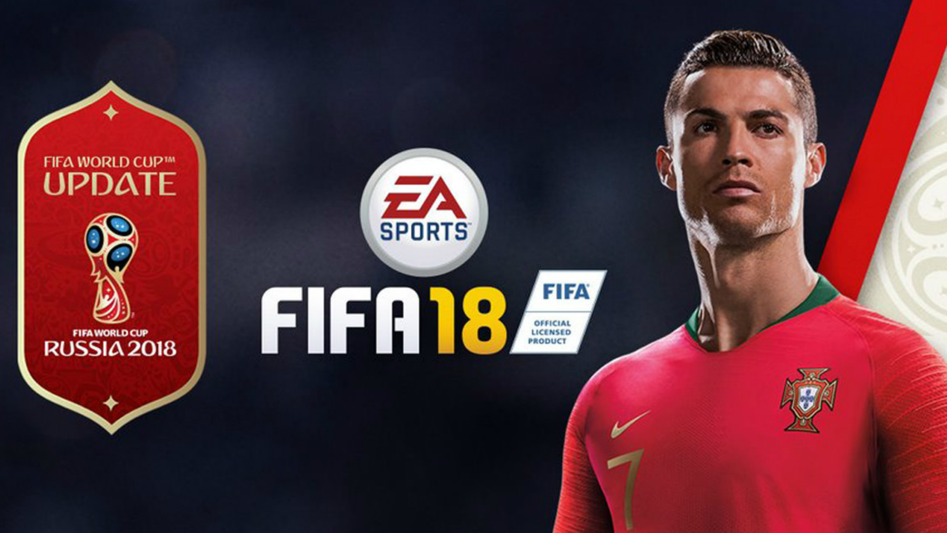 EA Sports ran Federation Internationale de Football Association  18 World Cup simulation