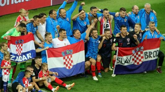 croatia england - celebration2 - world cup - 11072018