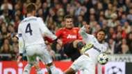 Robin van Persie Manchester United Raphael Varane Real Madrid