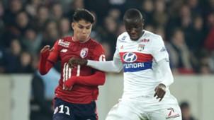 Luiz Araujo Tanguy Ndombele Lille Lyon 18022018 Ligue 1