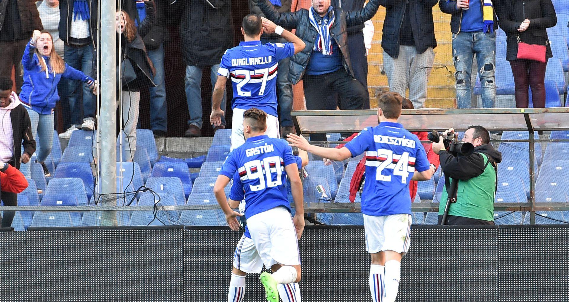 Serie A: Quagliarella annichilisce la Fiorentina, il Crotone espugna il Bentegodi