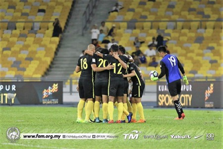 Malaysia vs Bhutan, international friendly, 01042018