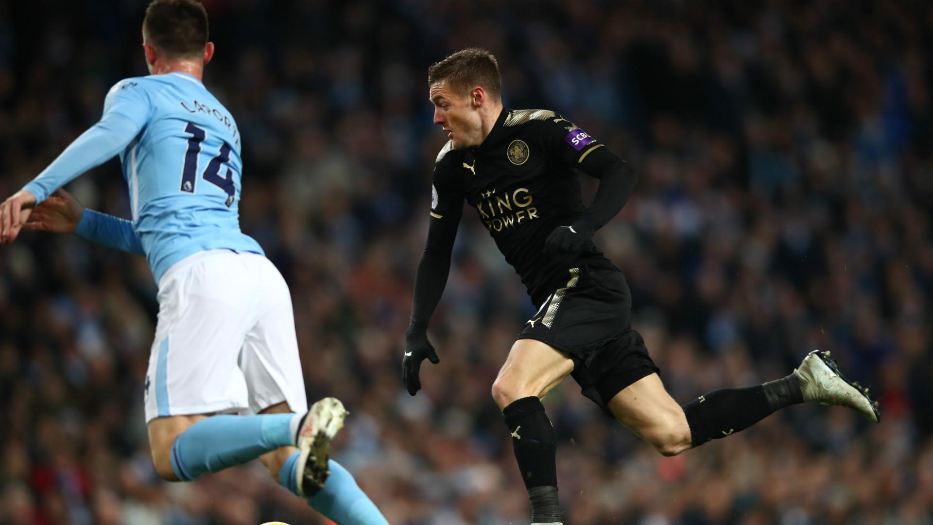 Jamie Vardy Leicester City 10022018