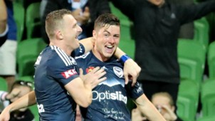 Marco Rojas Melbourne Victory v Adelaide United A-League 25022017