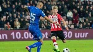 Oleksandr Zinchenko, PSV, Eredivisie, 02182017