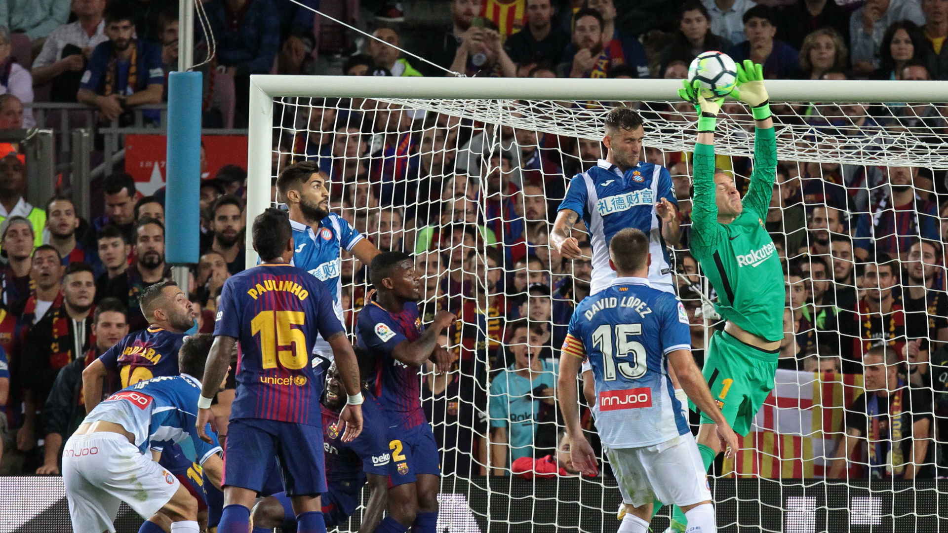 Gerard Pique DEFENDS controversial goal celebration