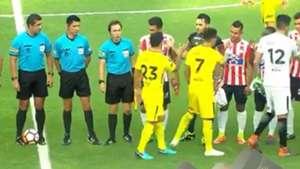 Captura Teo Gutierrez Tevez Junior Boca Copa Libertadores 020518