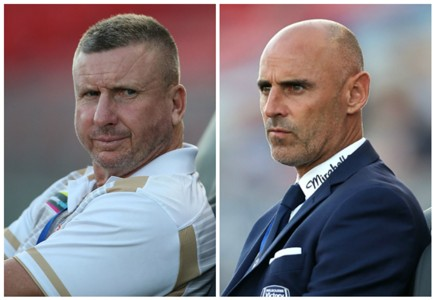 Mark Jones Kevin Muscat Newcastle Jets v Melbourne Victory A-League 13022017