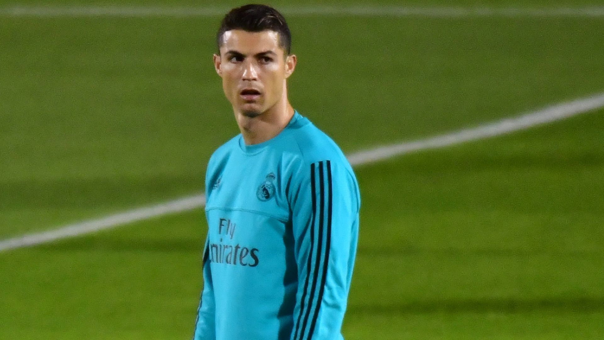 Cristiano Ronaldo Real Madrid Club World Cup training 11122017