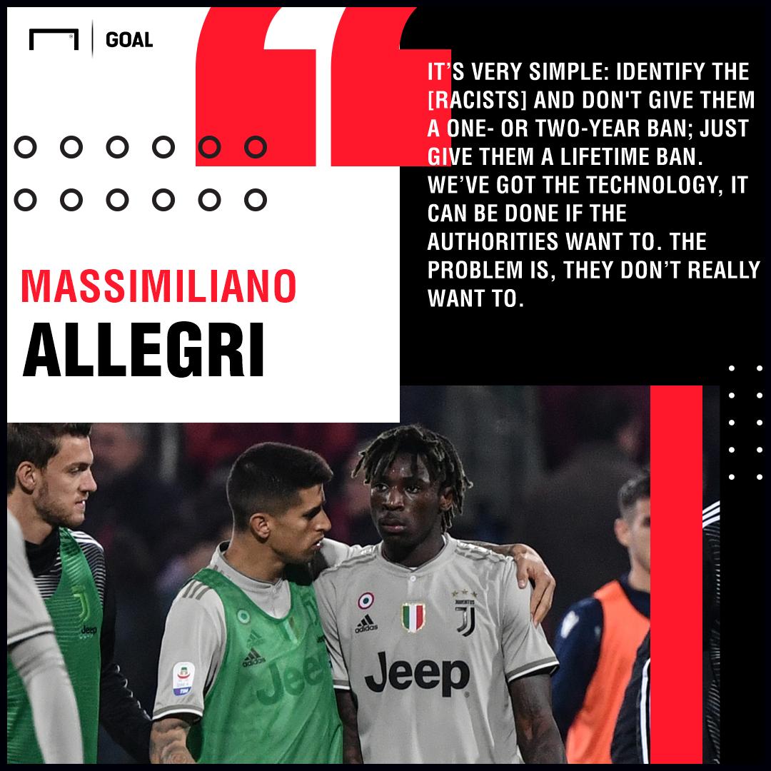Moise Kean Massimiliano Allegri Juventus PS