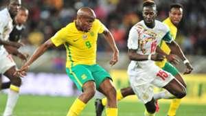 Bafana Bafana, Lebogang Manyama & Senegal, Salif Sane