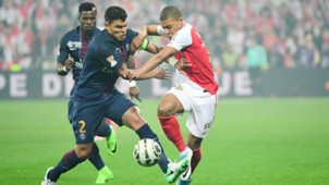 Thiago Silva Mbappe Ligue 1 PSG Monaco