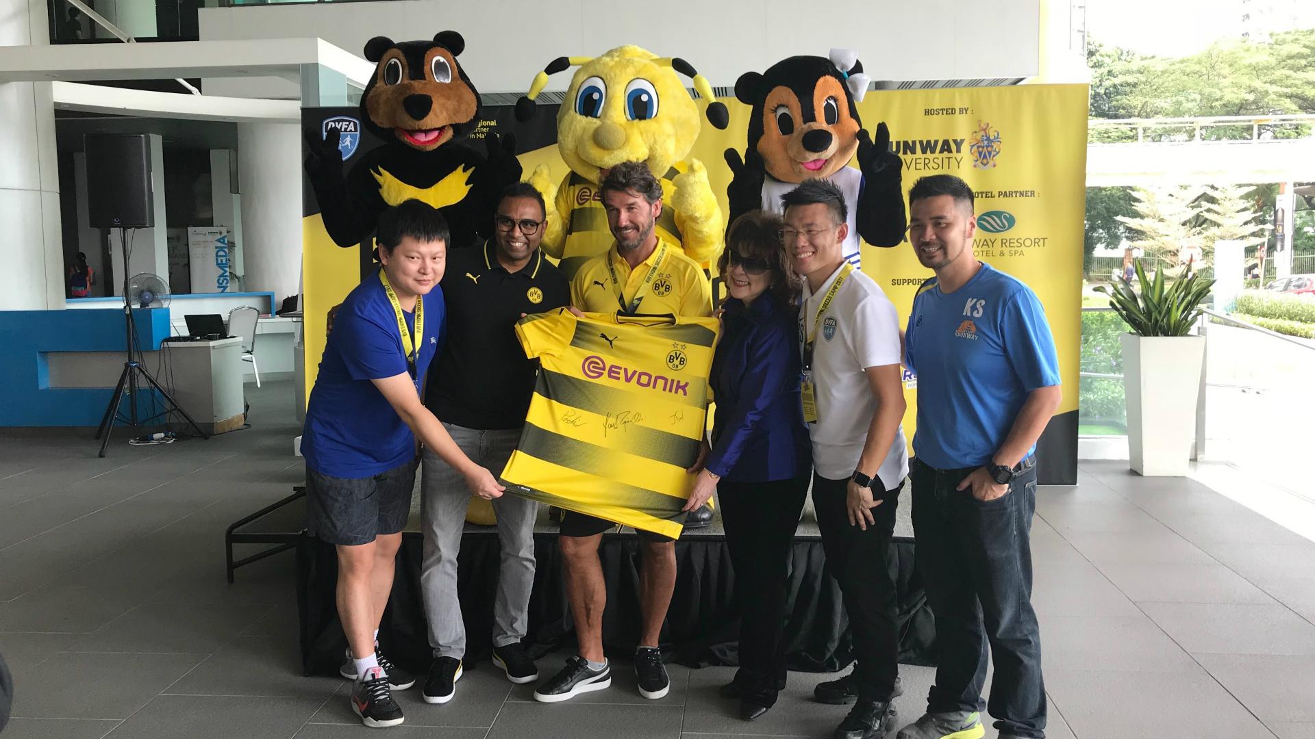Karl-Heinz Riedle, Borussia Dortmund, Malaysia
