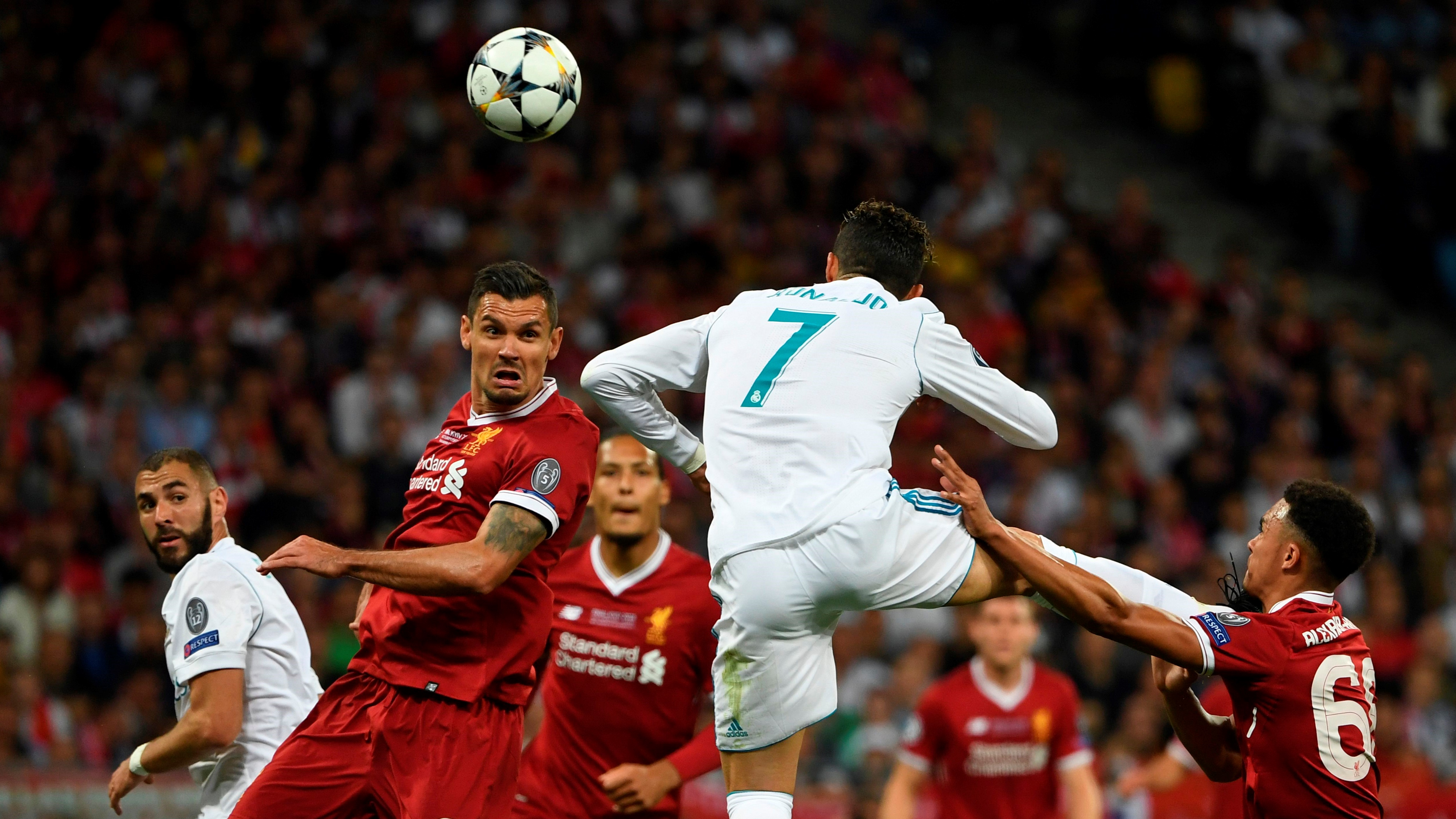 Cristiano Ronaldo Real Madrid Liverpool UCL