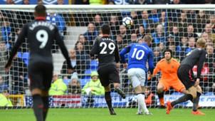 Wayne Rooney Everton Arsenal Premier League