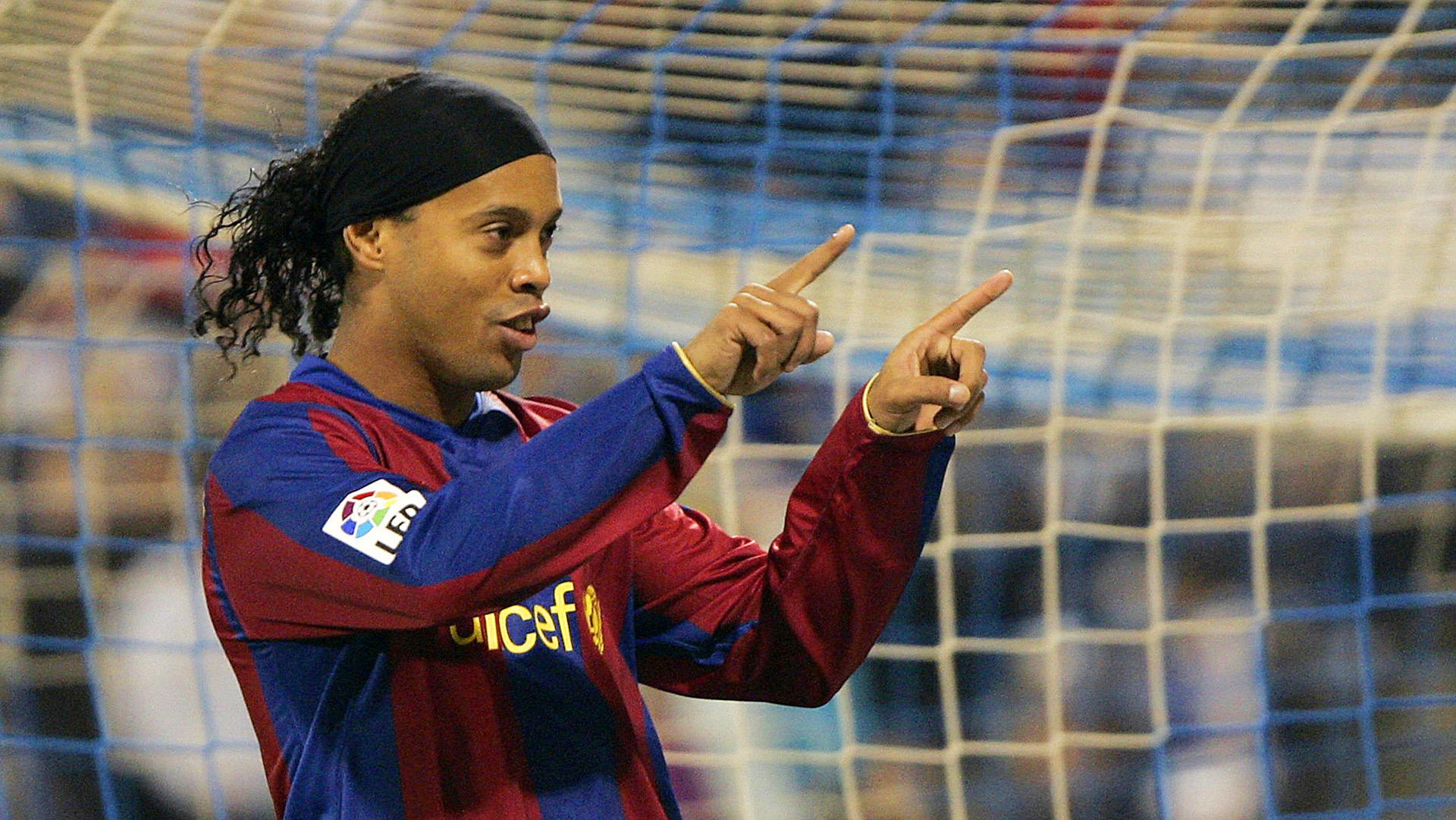 Ronaldinho Barcelona 2008