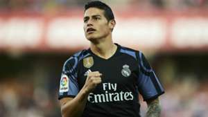 James Rodriguez Real Madrid 06052017