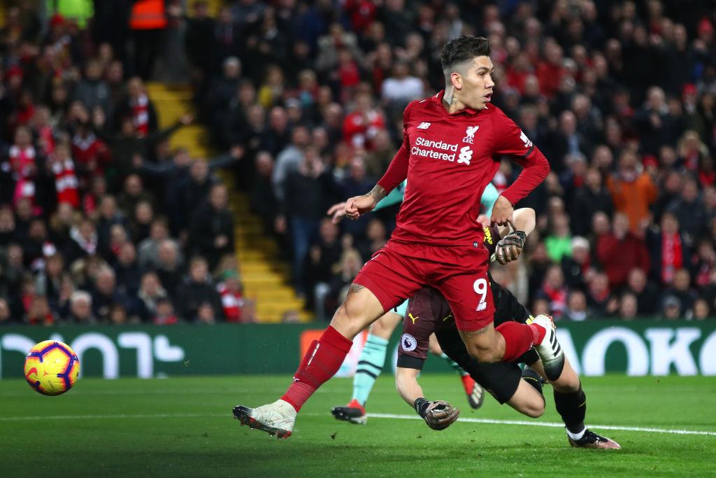 Roberto Firmino Liverpool Arsenal Premier League  291218
