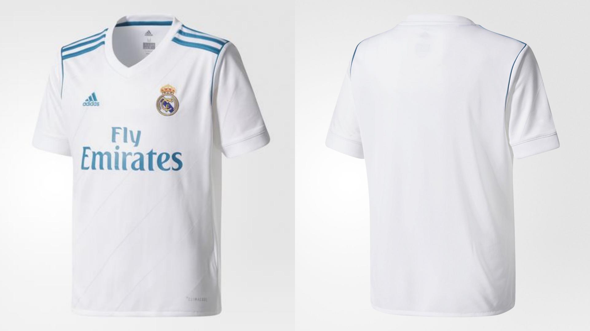 4b885fe233c9b Así son las nuevas camisetas del Real Madrid para la temporada 2017 ...